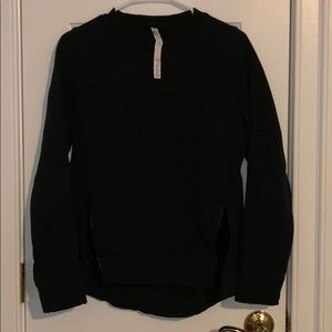 Lululemon side zip up sweatshirt
